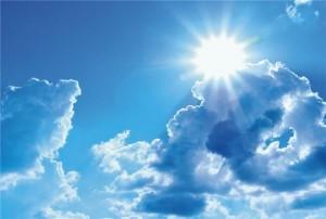 фотопечать облака натяжные потолки Veerline