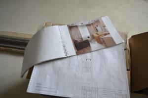 белые матовые потолки визуализация