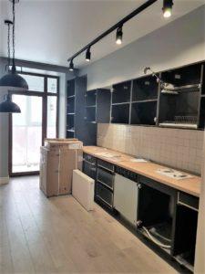 Натяжной потолок на кухне Харьков