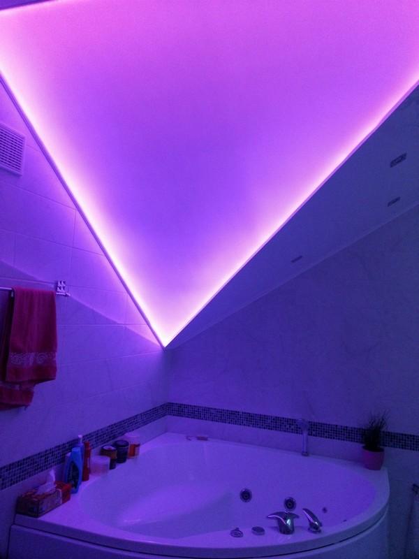 полупрозрачный натяжной потолок харьков
